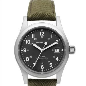 Hamilton H69419363 Khaki Mechanical Watch.